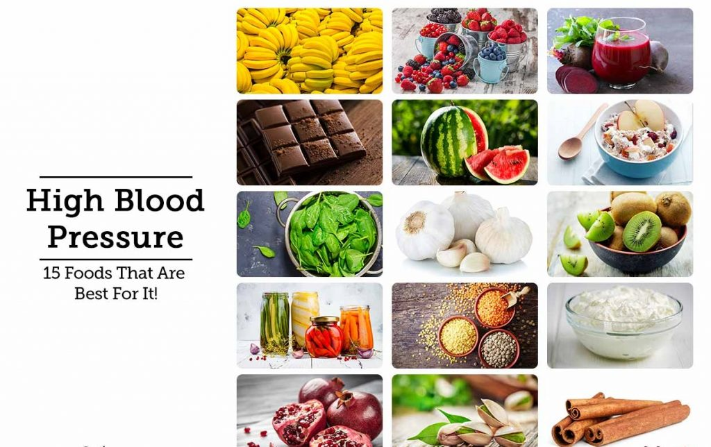 Dietary Food for High Blood Pressure